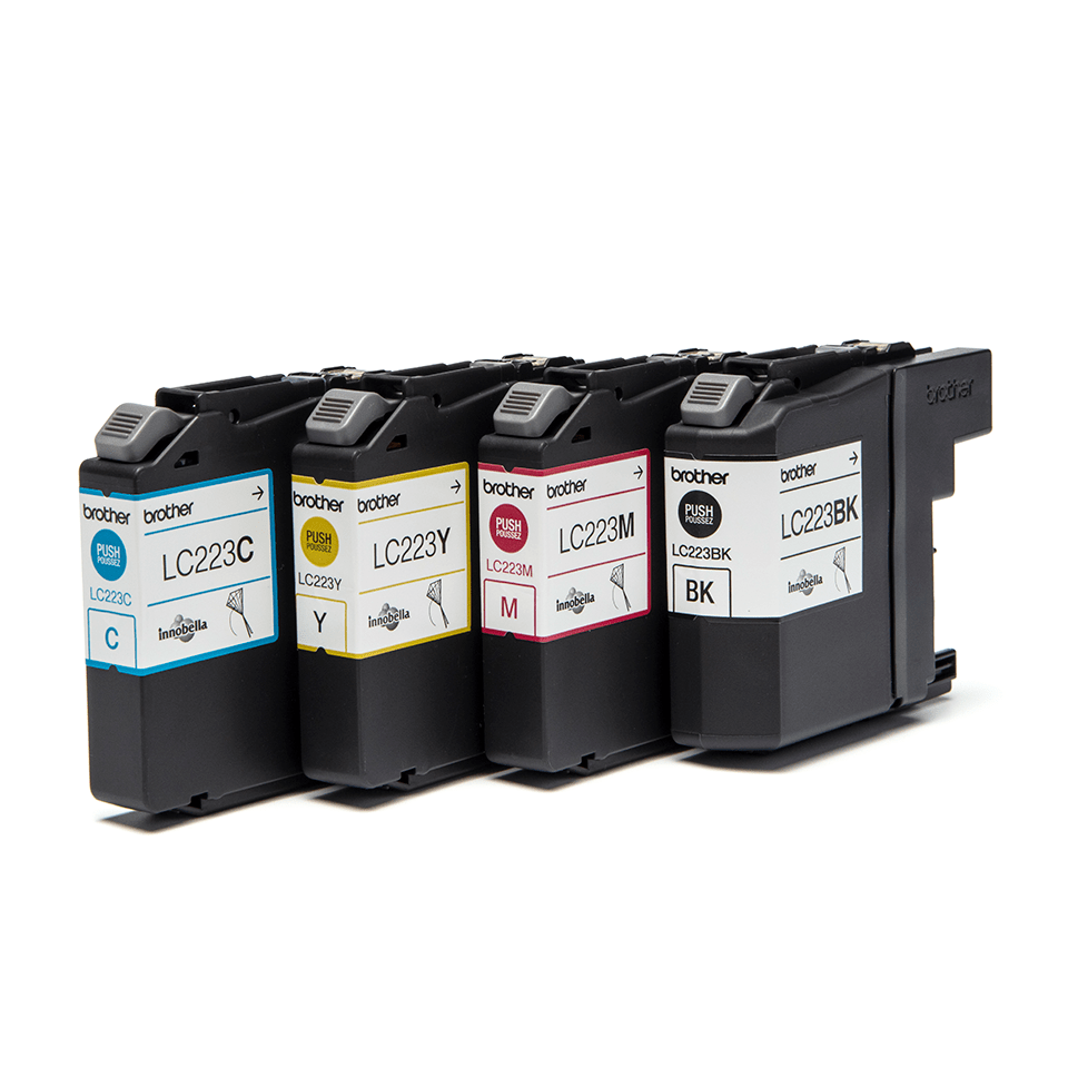 Genuine Brother LC223VALBP Ink Cartridge Multipack 2