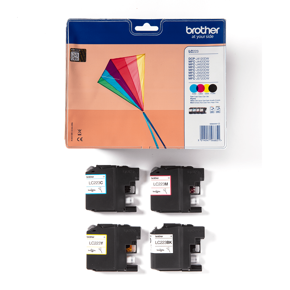 LC223 Pack 4 tinteiros 2