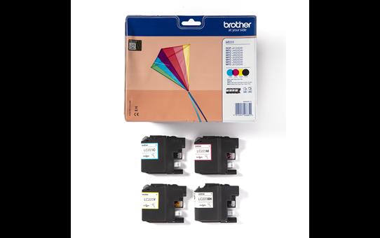 Original LC-223VALBP Tintenpatronen von Brother – Multipack  3
