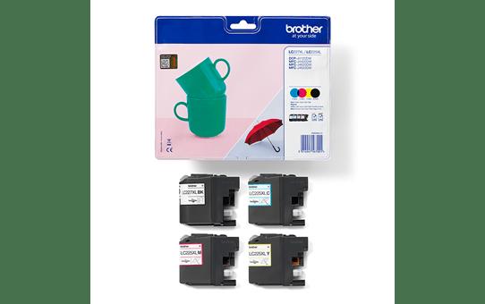 Genuine Brother LC227XLVALBP High Yield Ink Cartridge Multipack 3
