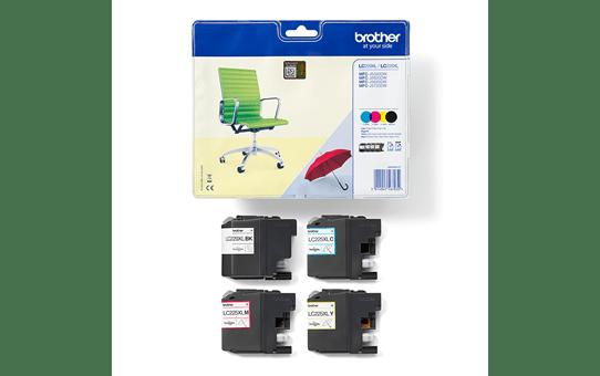 Genuine Brother LC229XLVALBP High Yield Ink Cartridge Multipack  3