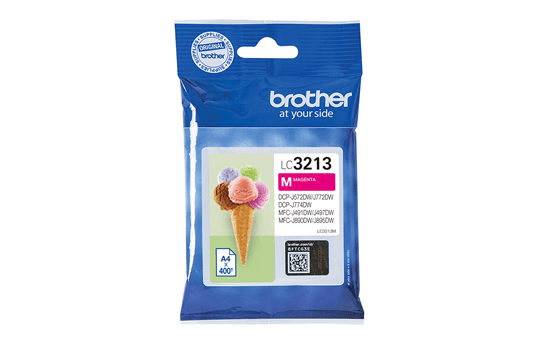 Genuine Brother LC3213VAL ink cartridges - black, cyan, magenta, yellow 2