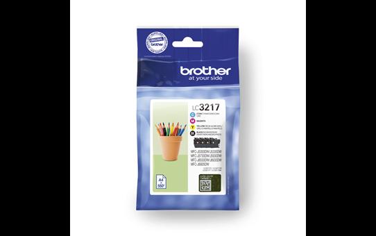 Brother LC3217VAL pack de cartouches d'encre - cyan, magenta, jaune et noir 4