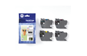 Genuine Brother LC3217VALDR ink catridge value pack - black, cyan, magenta and yellow 2