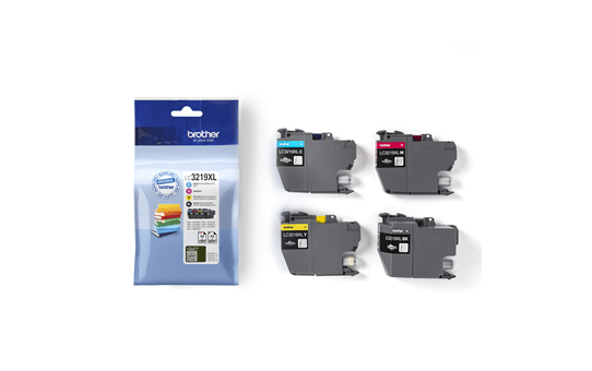 Genuine Brother LC3219XLVAL Ink Cartridge Multipack  3