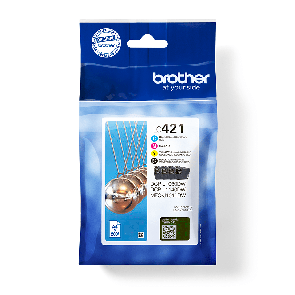 Pack cartuchos tinta LC421VAL Brother