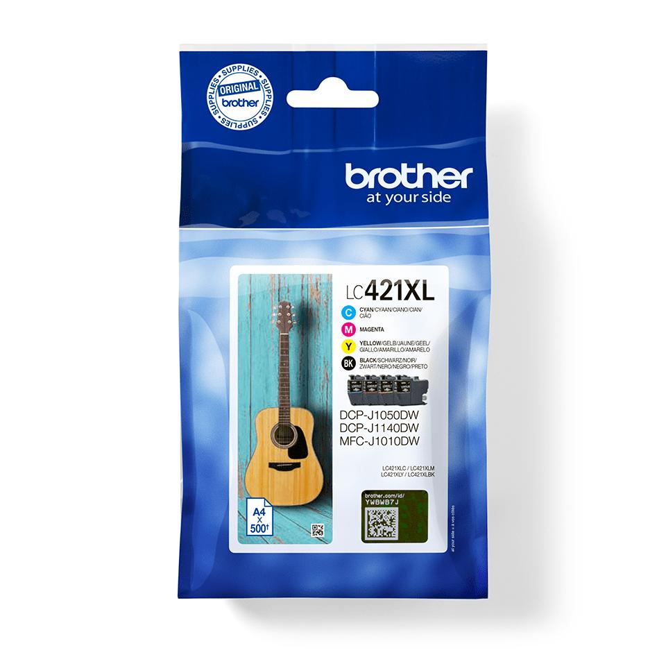 Pack de cartuchos de tinta de larga duración LC421XLVAL Brother
