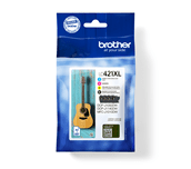 Original Brother LC-421XL Value Pack