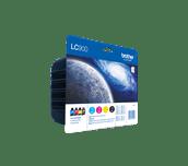LC900 Pack 4 tinteiros