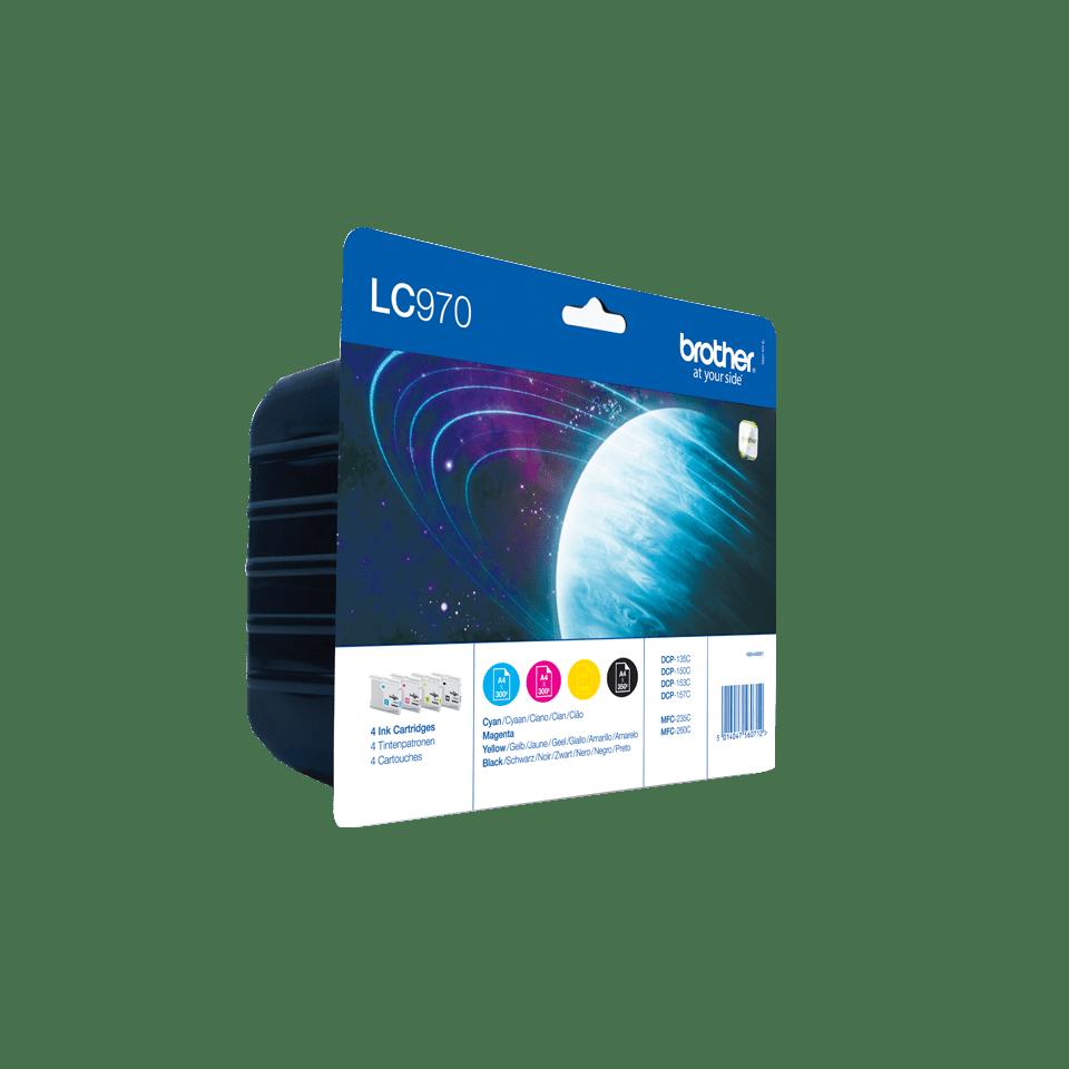 Brother LC-970VALBP Confezione da 4 cartucce inkjet originali 2