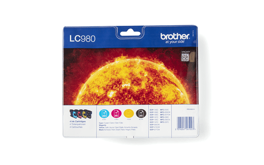 Original Brother LC-980 Value Pack