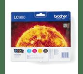 Genuine Brother LC980VALBP Ink Cartridge Multipack