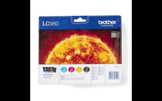 Pack de cartouches d'encre LC980VALBP Brother originales