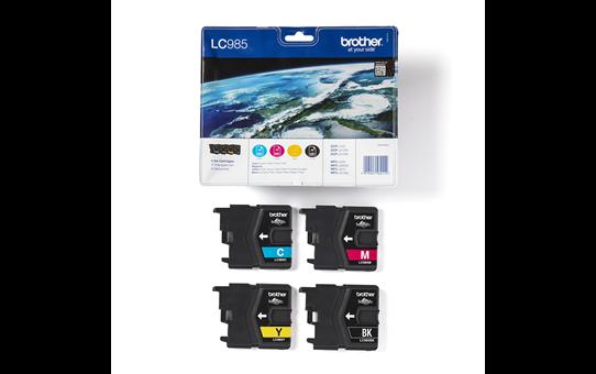 Originele Brother LC-985VALBP inktcartridge voordeelverpakking  3