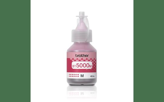 Оригинална бутилка с мастило Brother BT5000M - червено
