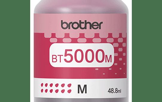 Оригинална бутилка с мастило Brother BT5000M - червено 2