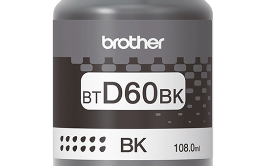 BTD60BK Genuine Brother High Yield Ink Bottle Black 3