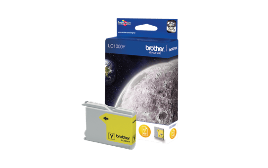 Genuine Brother LC1000Y Ink Cartridge – Yellow