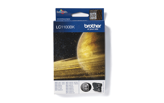 Brother LC1100BK original bläckpatron- Svart