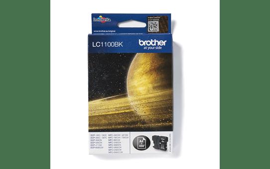 Brotherin alkuperäinen LC1100BK värikasetti - Musta