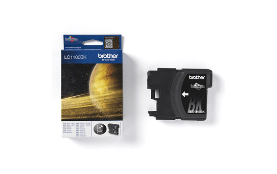 Brotherin alkuperäinen LC1100BK värikasetti - Musta 3