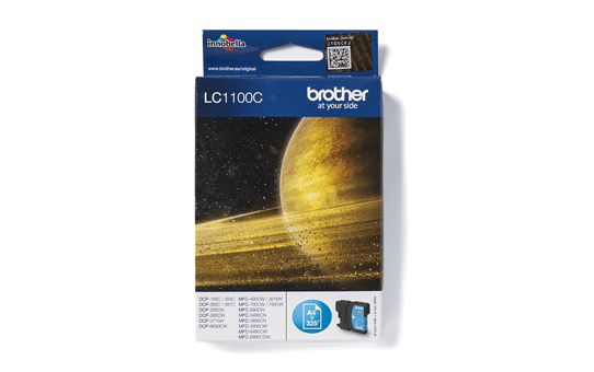 Brother LC-1100C Tintenpatrone – Cyan