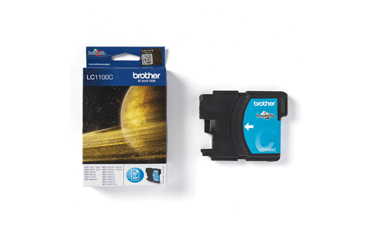 Brother LC1100C cartouche d'encre cyan 3