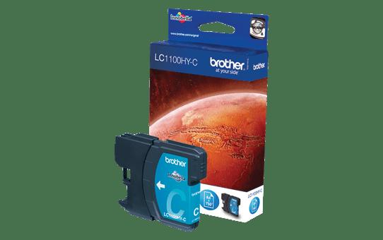 Original Brother LC1100HYC høykapasitet blekkpatron – cyan