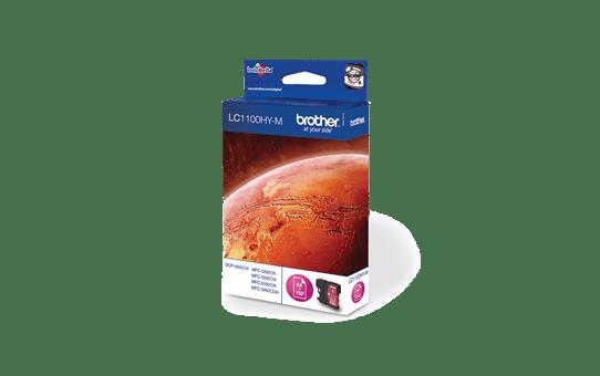 Brotherin alkuperäinen LC1100HYM suurvärikasetti – Magenta 2