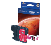 Brother LC1100HYM cartouche d'encre magenta