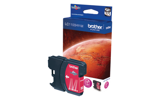 Brother LC1100HYM cartouche d'encre magenta 2