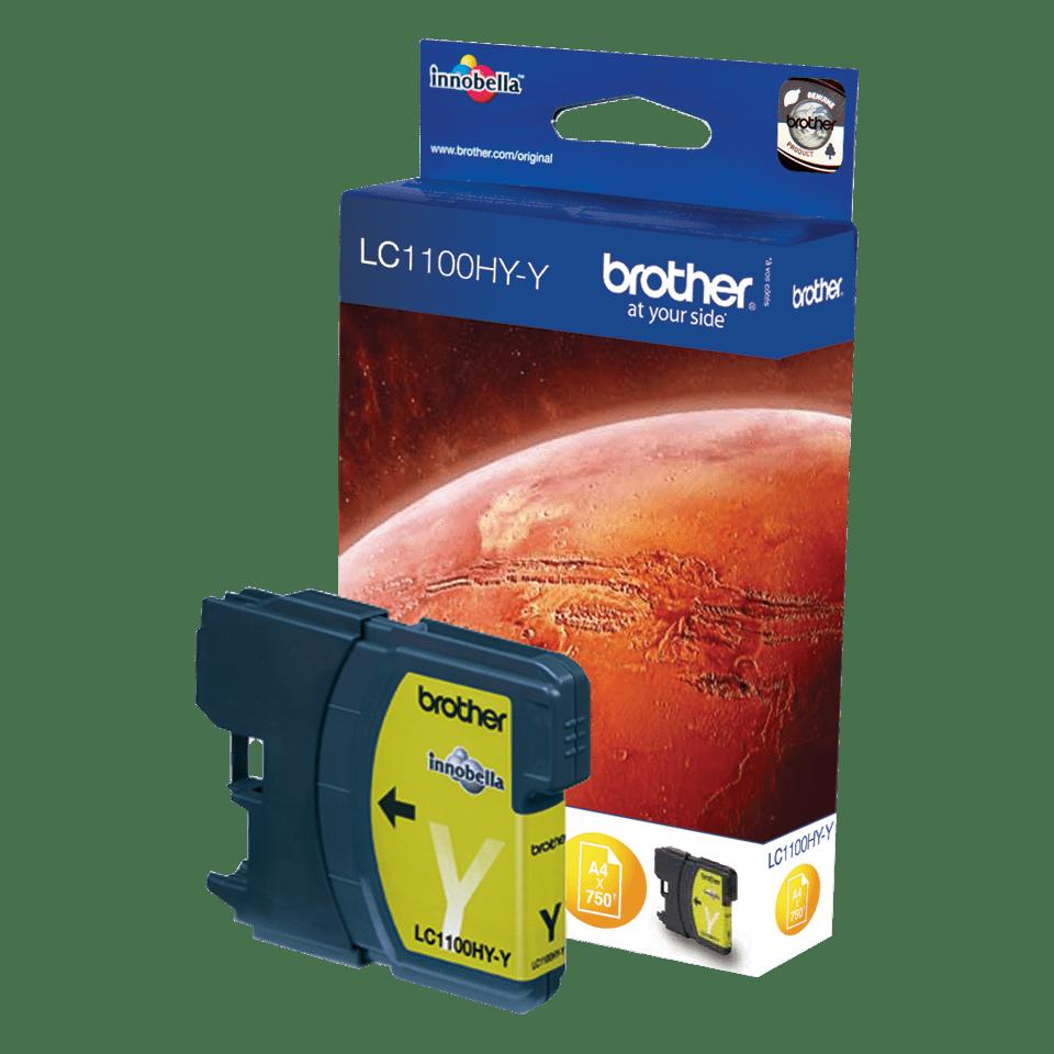 LC1100HYY Cartucho de tinta amarillo de alta capacidad.