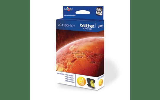 Cartuccia di inchiostro ad alta capacità Brother LC-1100HYY – Giallo 2