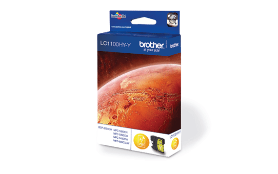 Brother LC1100HYY cartouche d'encre jaune