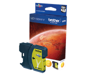 Brother LC1100HYY inktpatroon geel