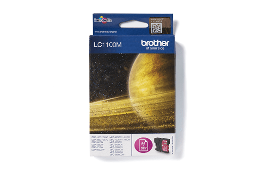 Brother LC1100M cartouche d'encre magenta