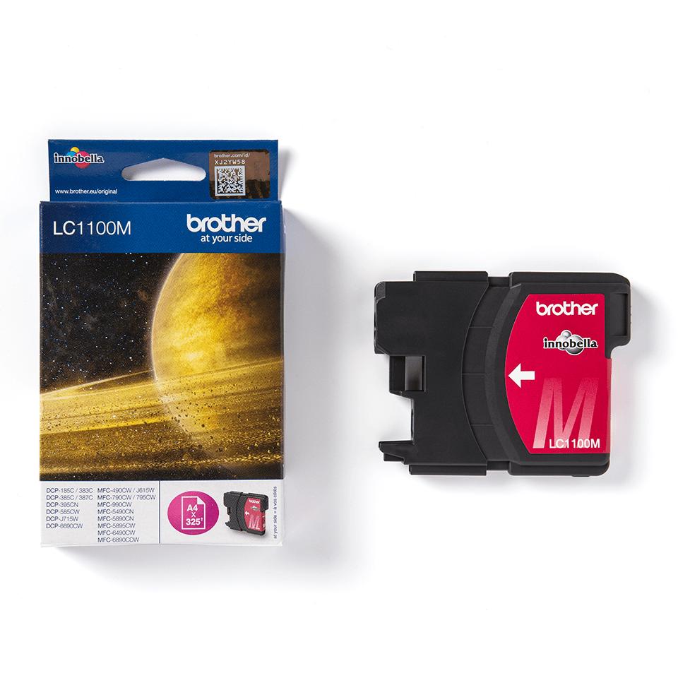 Genuine Brother LC1100M Ink Cartridge – Magenta 3