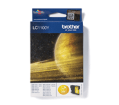 Brother LC1100Y cartouche d'encre jaune