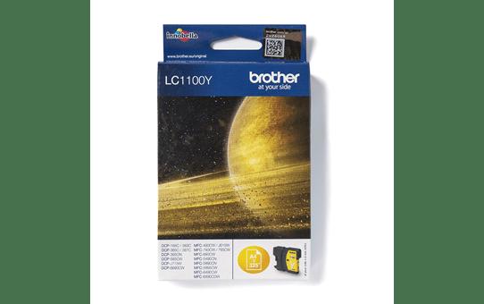 Brother LC1100Y inktpatroon geel