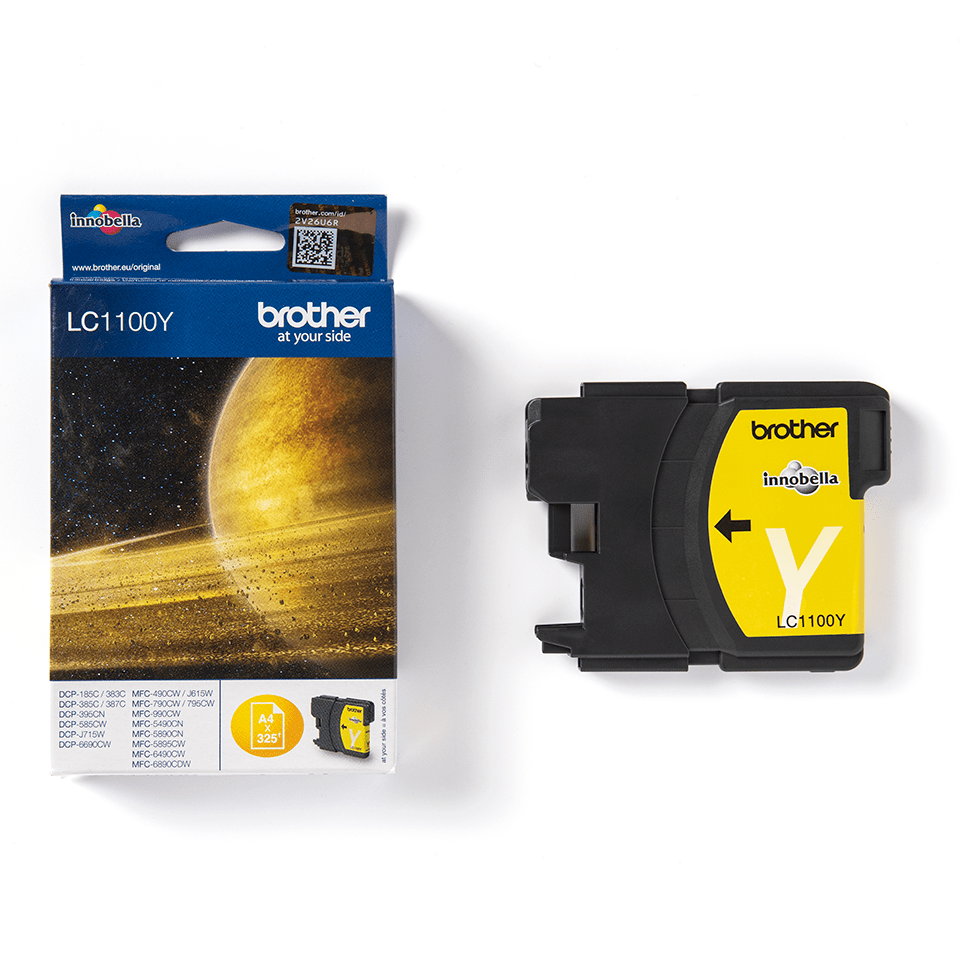 Brother LC1100Y cartouche d'encre jaune 3