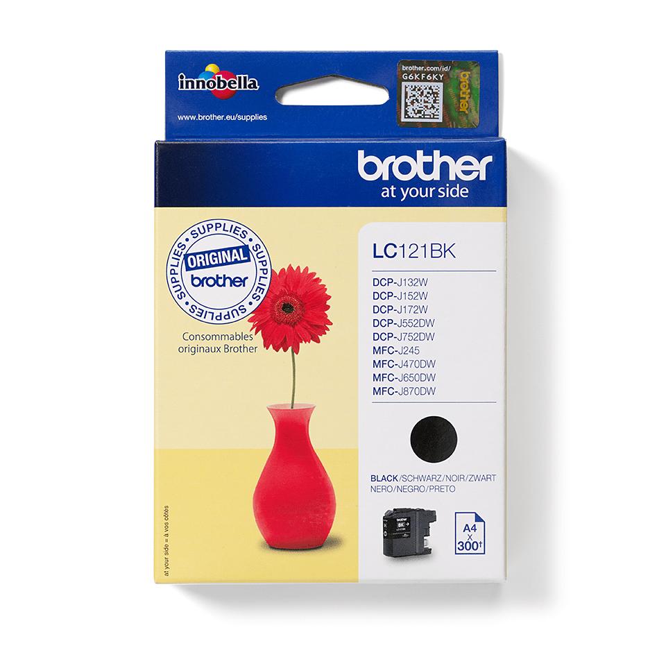 Genuine Brother LC121BK Ink Cartridge – Black 3