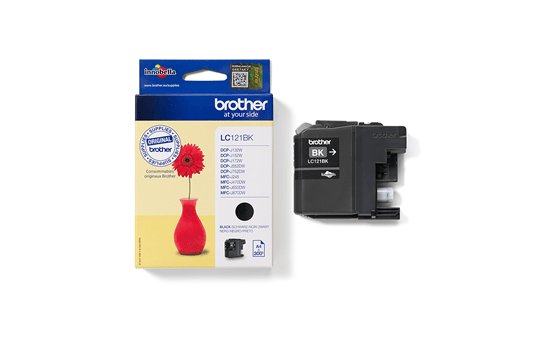 Genuine Brother LC121BK Ink Cartridge – Black 2