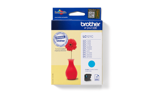 Brother LC121C cartouche d'encre cyan