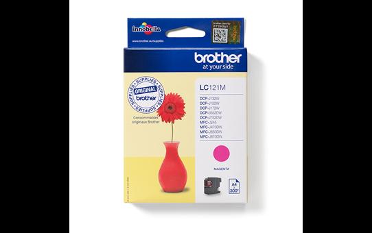 Brother LC121M inktpatroon magenta 4