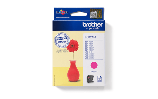 Brother LC121M cartouche d'encre magenta 4