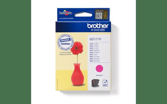 Brotherin alkuperäinen LC121M värikasetti – Magenta 4