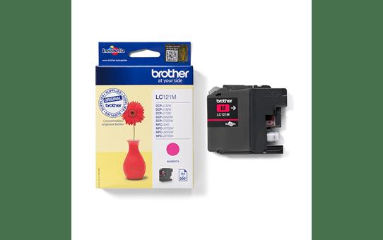 Genuine Brother LC121M Ink Cartridge – Magenta 2