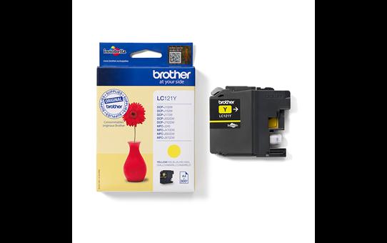 Originalan Brother LC121Y spremnik tinte – žuti 3
