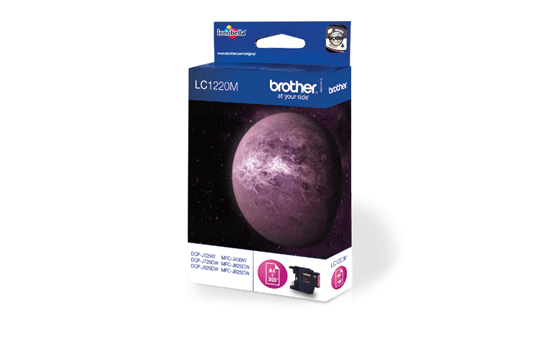 Genuine Brother LC1220M Ink Cartridge – Magenta 2