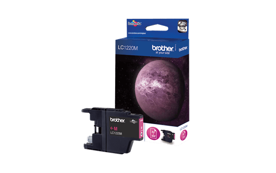 Brother LC1220M cartouche d'encre magenta 2
